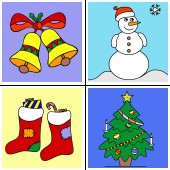 Christmas Coloring Painting Game