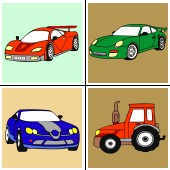 Christmas Coloring Painting Game Car