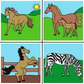 horses coloring game